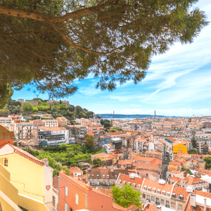 Stunning viewpoints and views in Lisbon