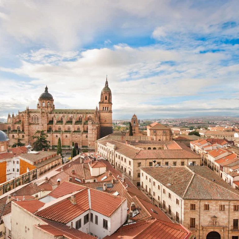 How to get from Madrid to Salamanca in Spain