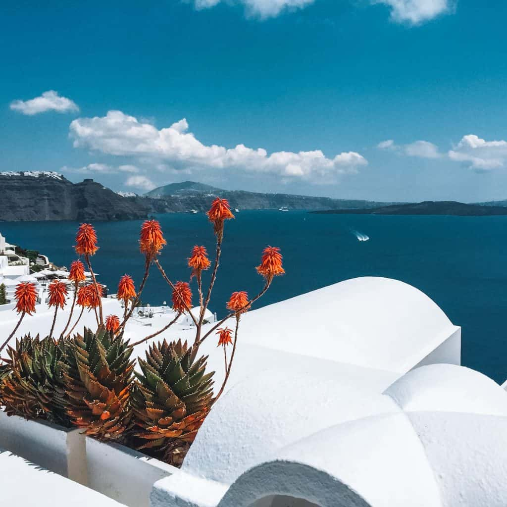 Santorini, Greece, Views