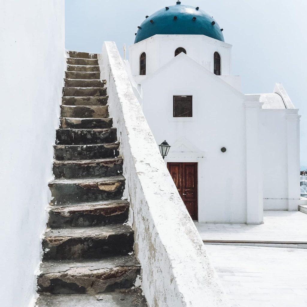 Beautiful Santorini Photo