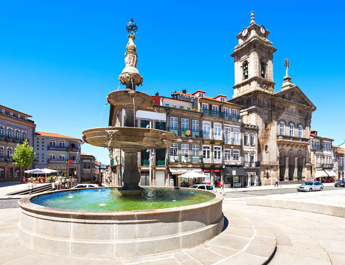 Guimaraes historic centre