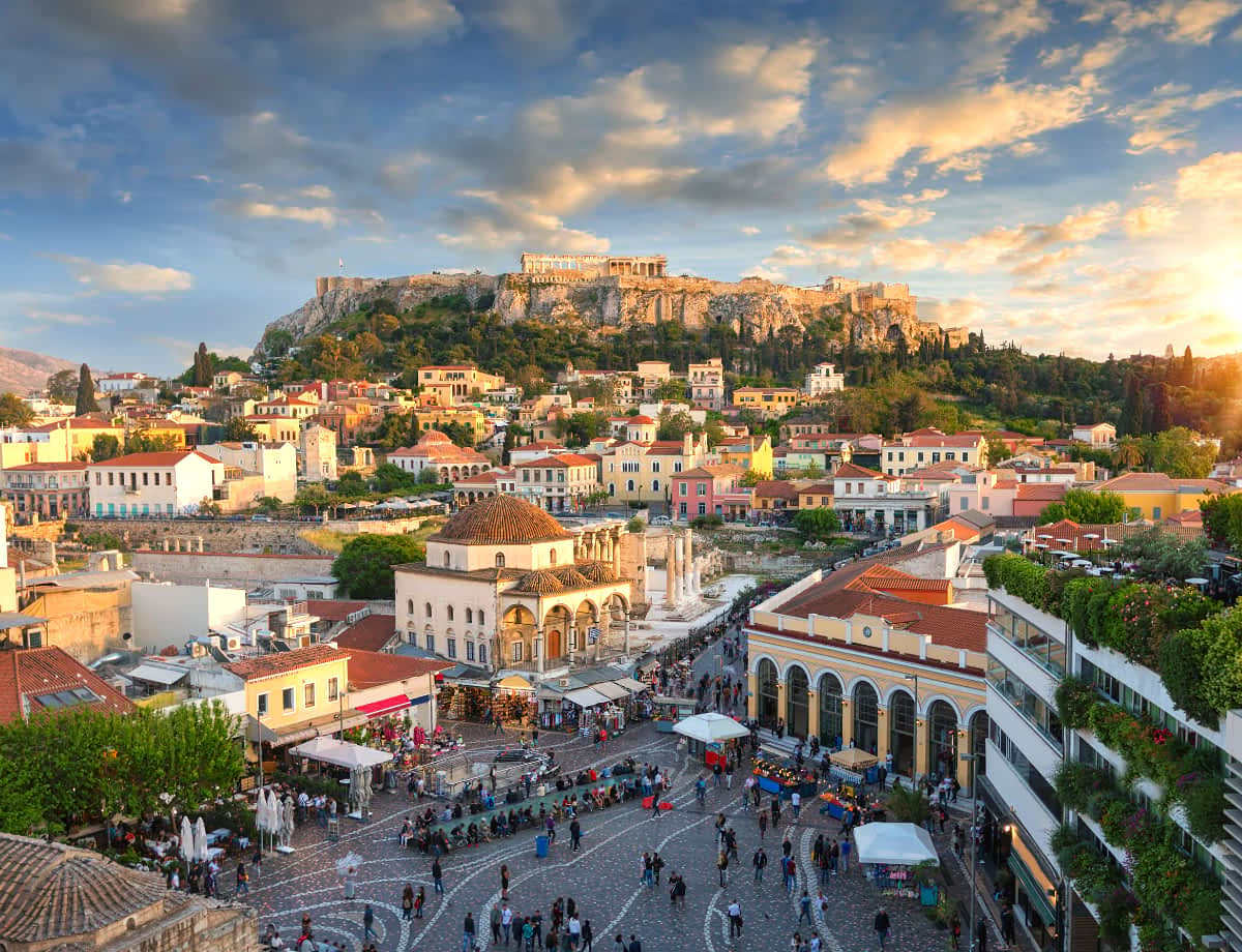 How to get from Athens to Mykonos in Greece