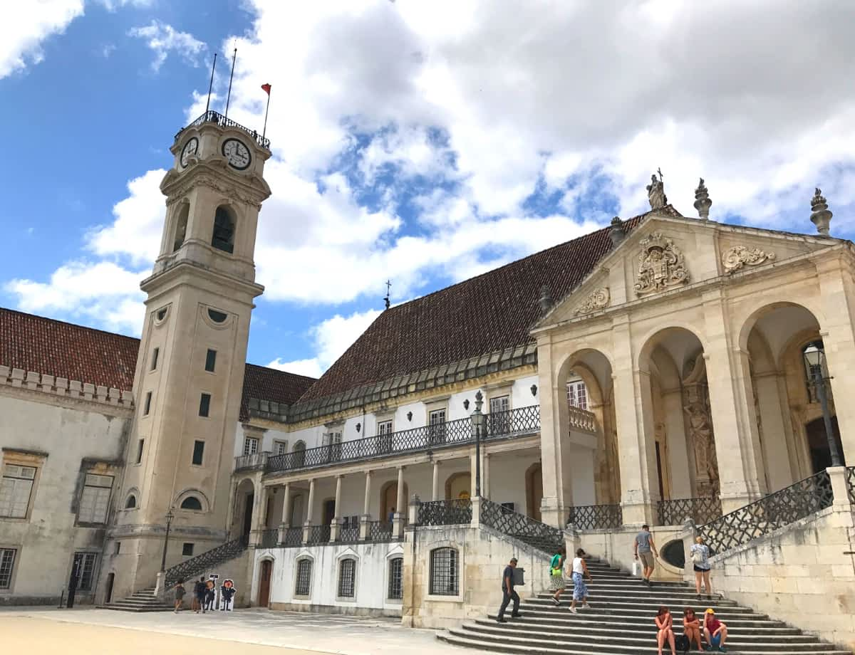 Getting from Lisbon to Coimbra