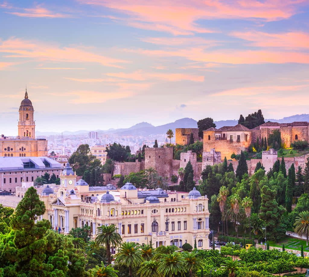 Malaga by SeanPavonePhoto from Getty Images Pro from Canva