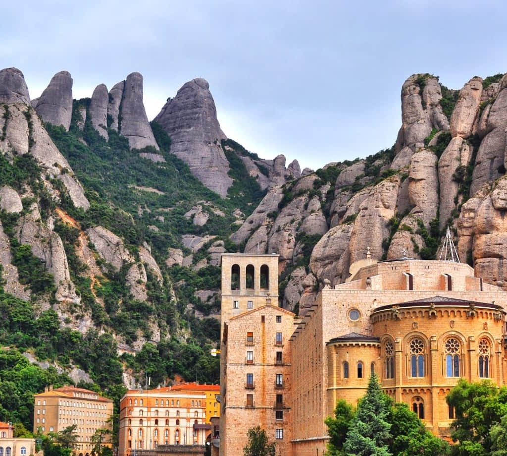 Montserrat Monastery by Roberto Perra from Getty Images Pro from Canva