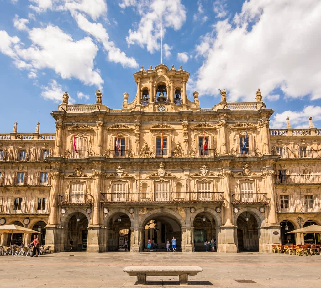 Plaza Mayor Salamanca by Tanaonte from Getty Images Pro from Canva