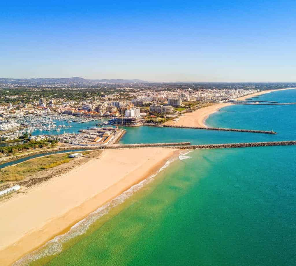 Vilamoura Aerial view by Jacek_Sopotnicka from Getty Images Pro from Canva