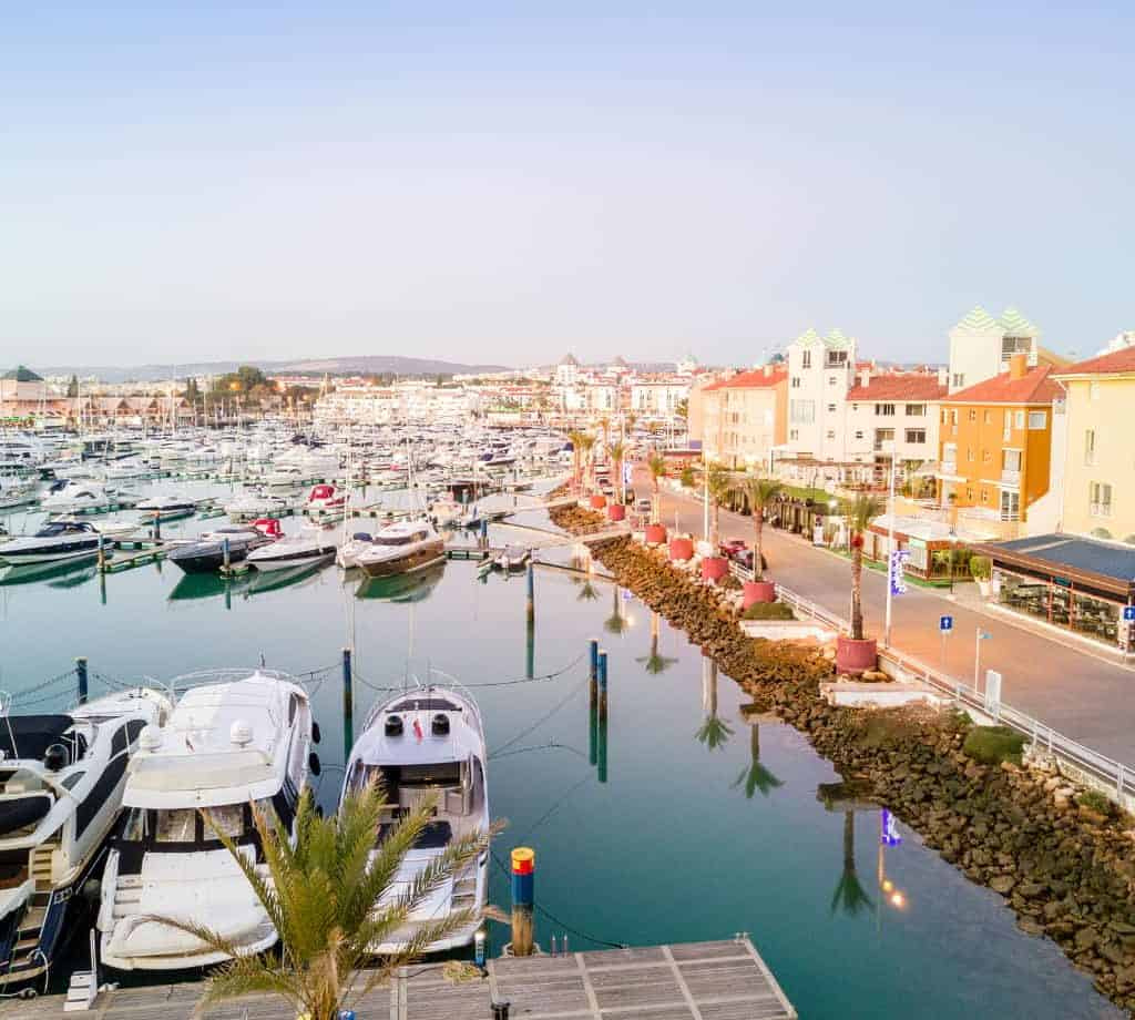 Vilamoura Marina by Jacek_Sopotnicka from Getty Images Pro from Canva