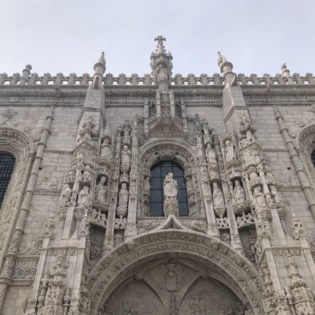 Entrance to the Santa Maria Church