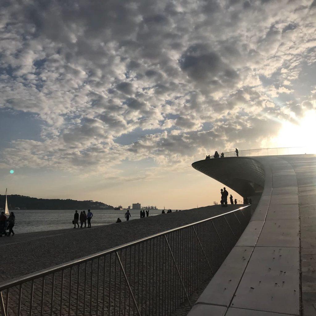 MAAT at sunset