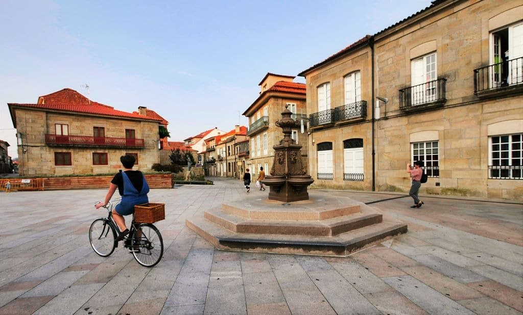 Pontevedra city center - A World to Travel