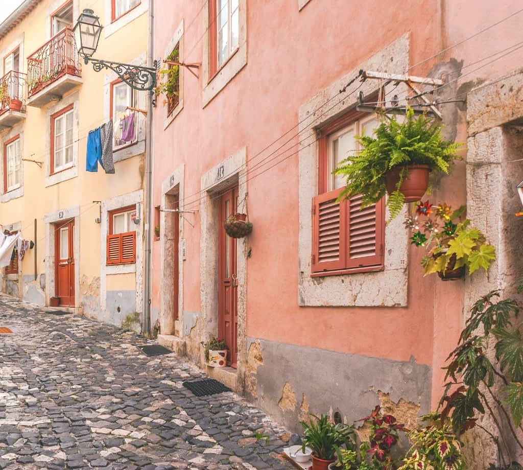 Streets of Alfama, Lisbon