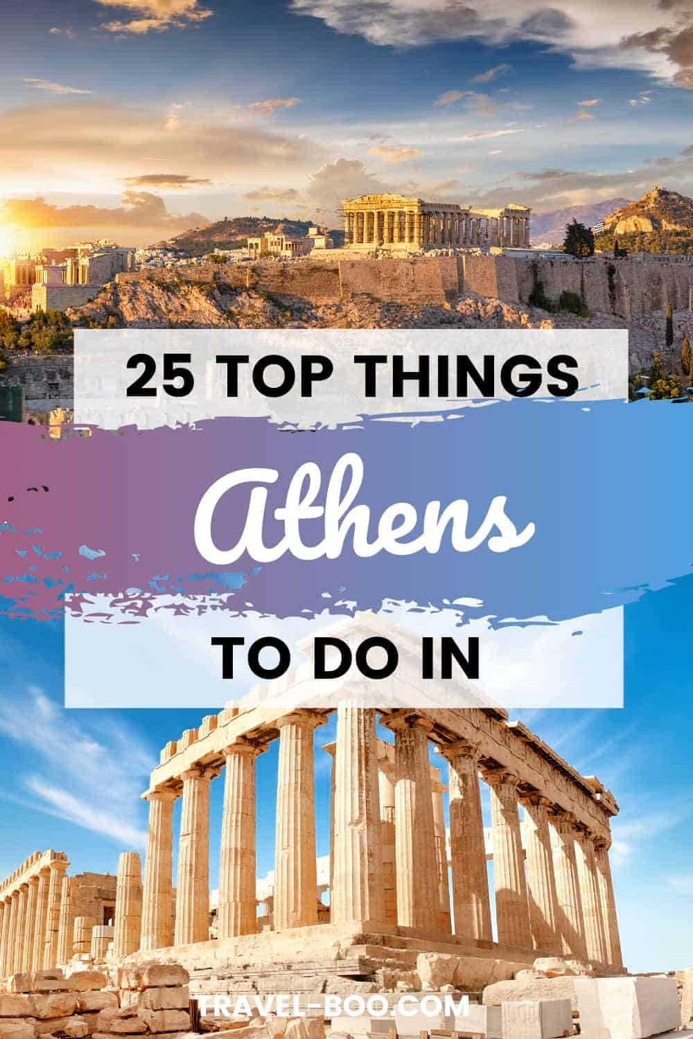 Visiting Athens Greece? Then check out this guide on the 25 Top Things to do in Athens! Athens Greece Travel | Greece Travel Guide | Greece Travel Tips | Greece Travel | Greece Vacation | #AthensGreece #GreeceTravelAthens