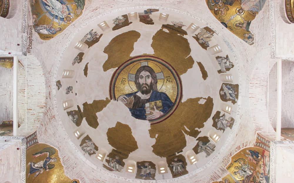 Daphni Monastery in Athens