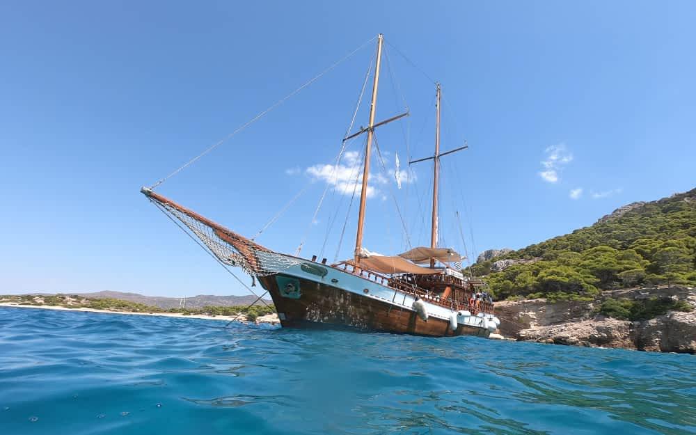 Athens Sailing day trip