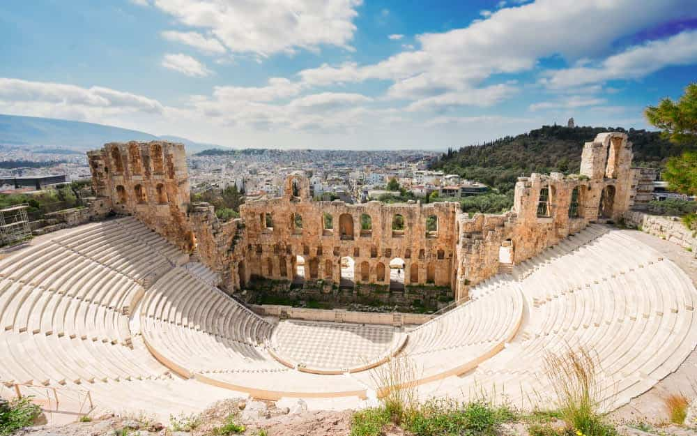 Odeon of Herodes Atticus - The Acropolis