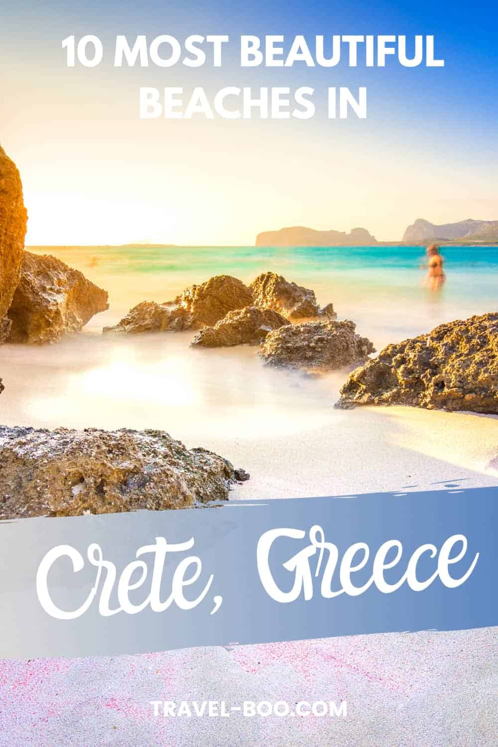 Visiting Crete, Greece? Don't miss out on these 10 most beautiful beaches in Crete! Crete Travel | Crete Travel Guide | Crete Travel Greece | Crete Travel Tips | Greece Travel | Greece Travel Islands | Greece Travel Guide #cretetravel #greecetravel #greecetravelislands