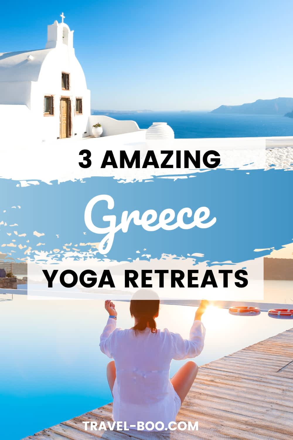Wanting to book a yoga retreat in Greece? Check out these 3 amazing Greek yoga experiences! Greece Travel, Greece Travel Guide, Greece Travel Vacation, Where to go in Greece, Greece Travel Islands, Greece Travel Tips, Kos Greece, Corfu Greece. #greecetravel #greecetravelislands #greecetravelguide