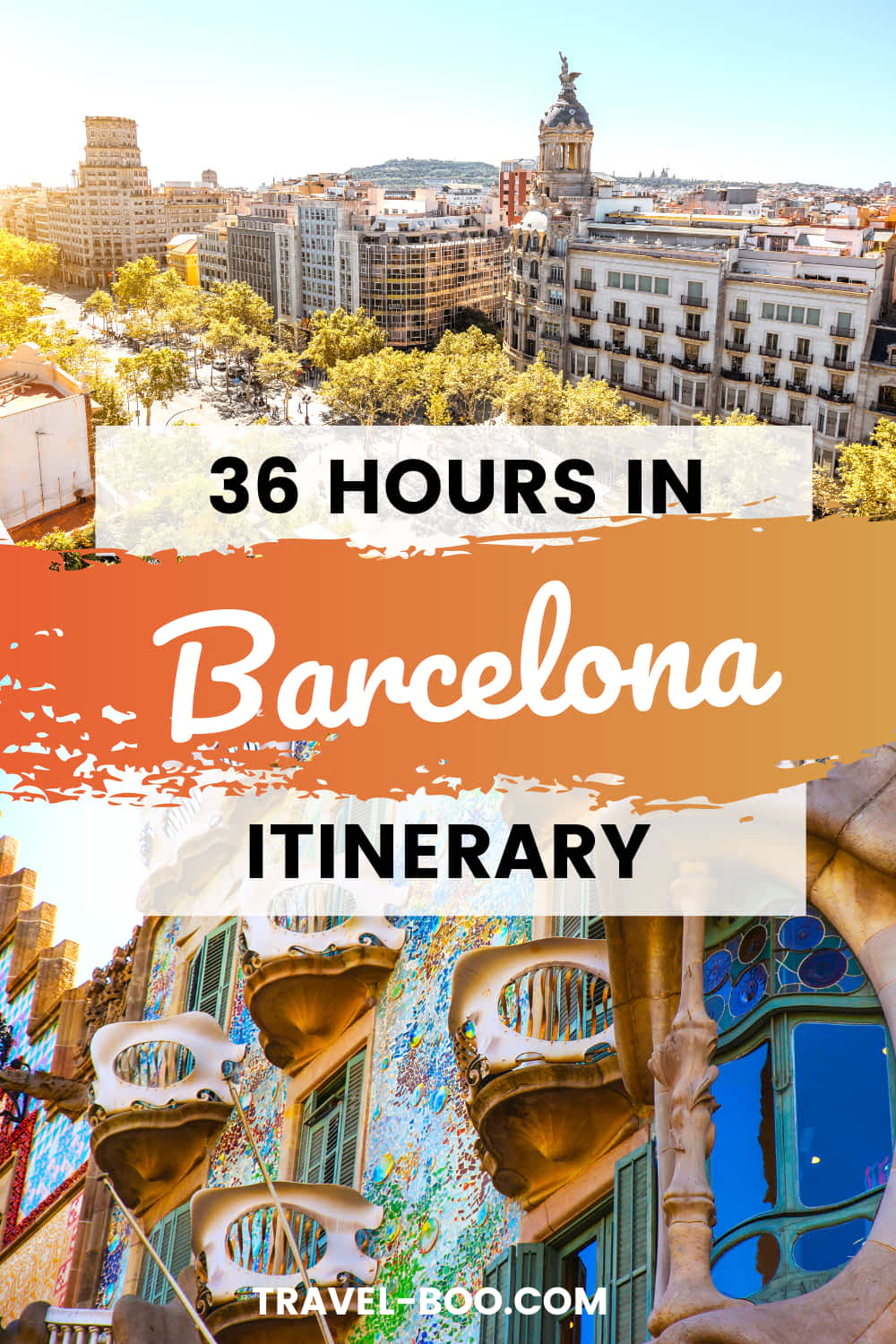 Plan on visiting Barcelona for just under 2 days? Check out our ultimate 36 Hours in Barcelona itinerary! Barcelona Spain, Barcelona Spain Travel, Barcelona Travel Guide, Spain Travel Barcelona, Spain Travel, Spain Travel Guides, Barcelona Travel Tips. #barcelonatravel #spaintravel #barcelona