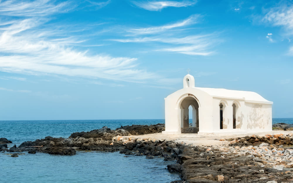 Agios Nikolaos Chapel in Chania © Image Courtesy of Delpixart from Getty Images by Canva