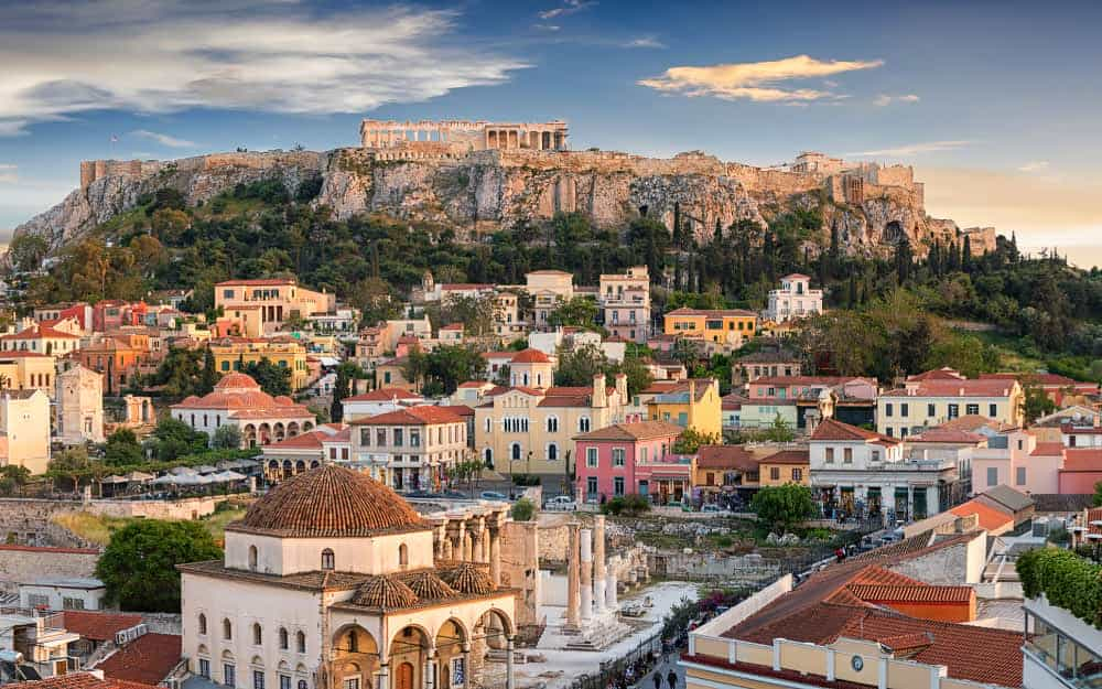 Athens Weather October