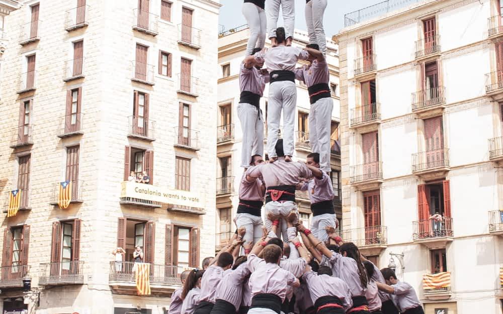 Castells - Photo by Angela Compagnone on Unsplash