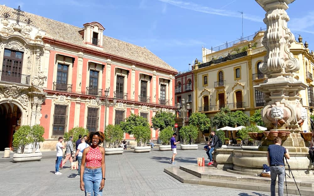 Ciara from the Wellness Travel Diaries, Seville