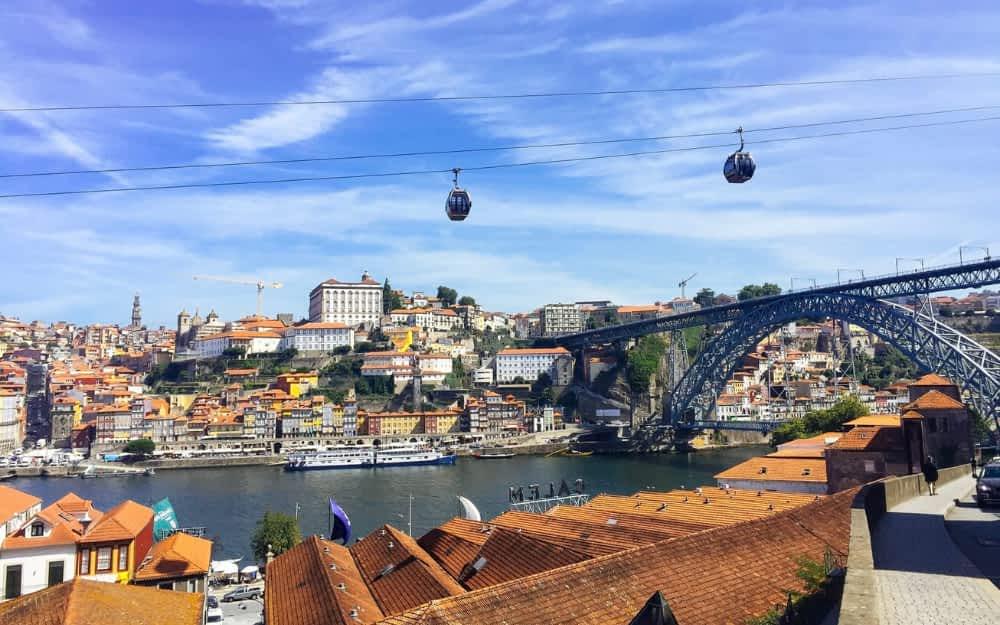 Famous Landmarks in Portugal - Dom Luis I Bridge