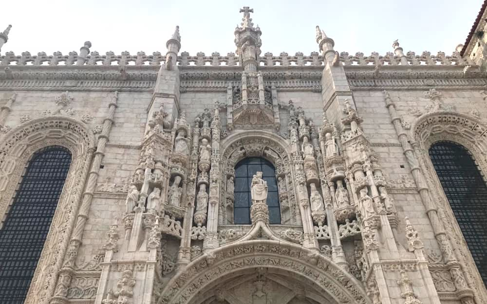 Jeronimos Monastery - landmarks of Portugal