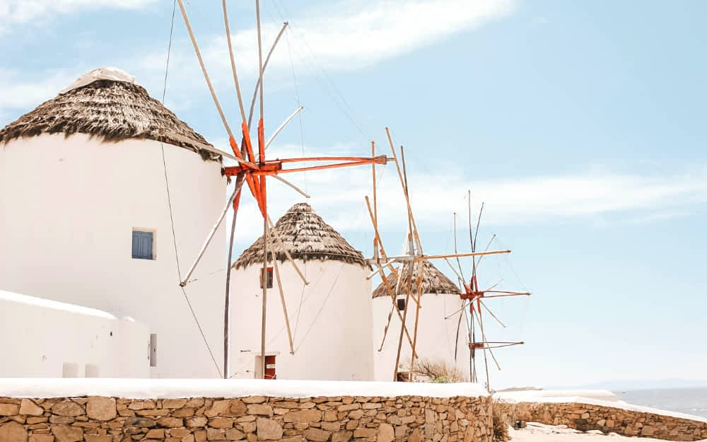 Mykonos honeymoon