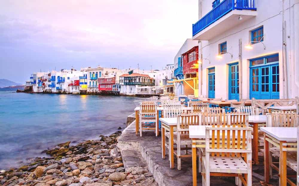 Mykonos weather October