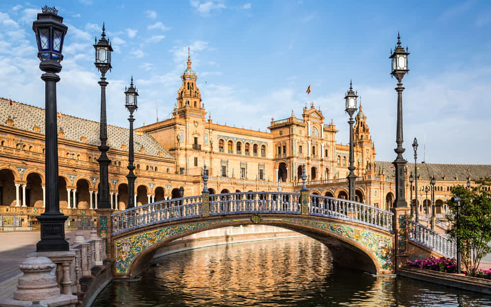Things to do in Seville, Plaza de Espana, Sevilla