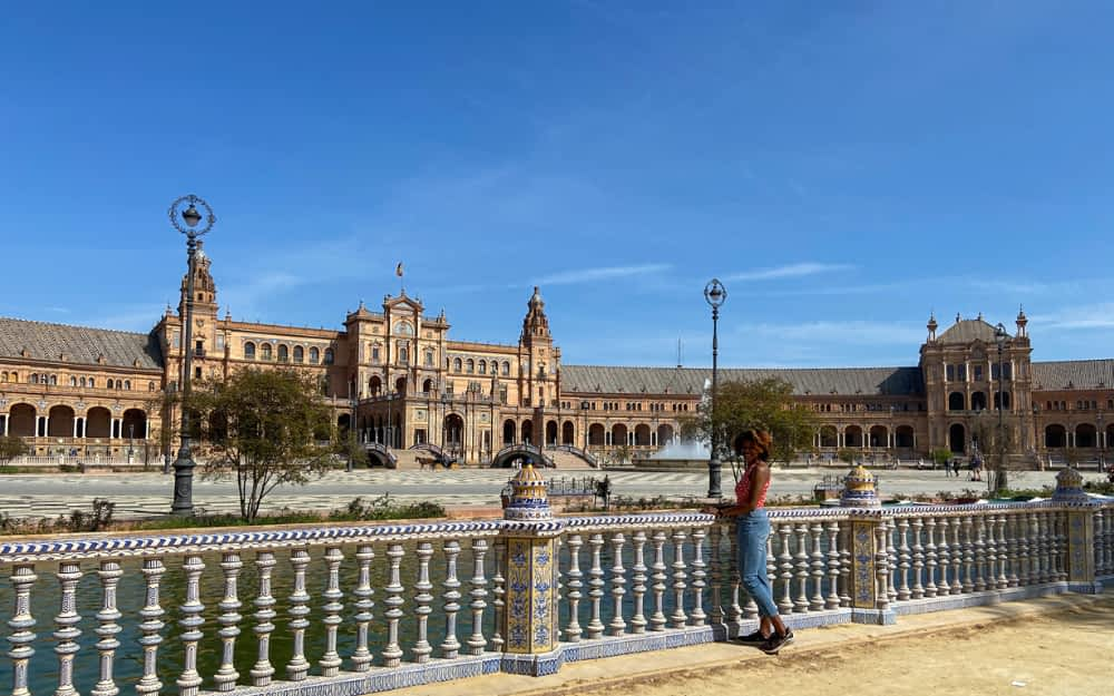 Plaza de Espana by Ciara from The Wellness Travel Diaries