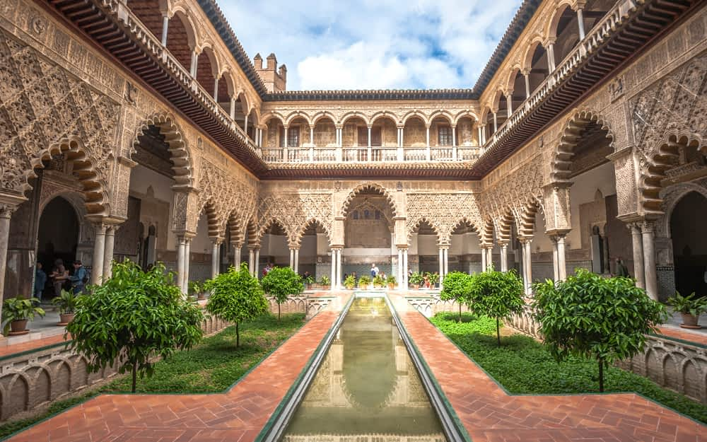 Real Alcazar in Seville