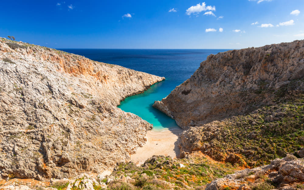 Saetan Limania in Crete © Image Courtesy of Patryk_Kosmider from Getty Images by Canva