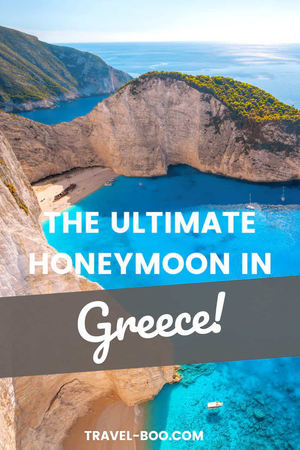 Planning a romantic honeymoon to Greece? Don't miss these 8 spectacular Greece Honeymoon Destinations! Greece Travel Islands, Greece Travel, Greece Travel Guide, Santorini Travel, Mykonos Travel, Greece Vacation, Athens Greece Travel, Greece Travel Santorini. #greecetravel #santorinigreece #mykonosgreece #athensgreece