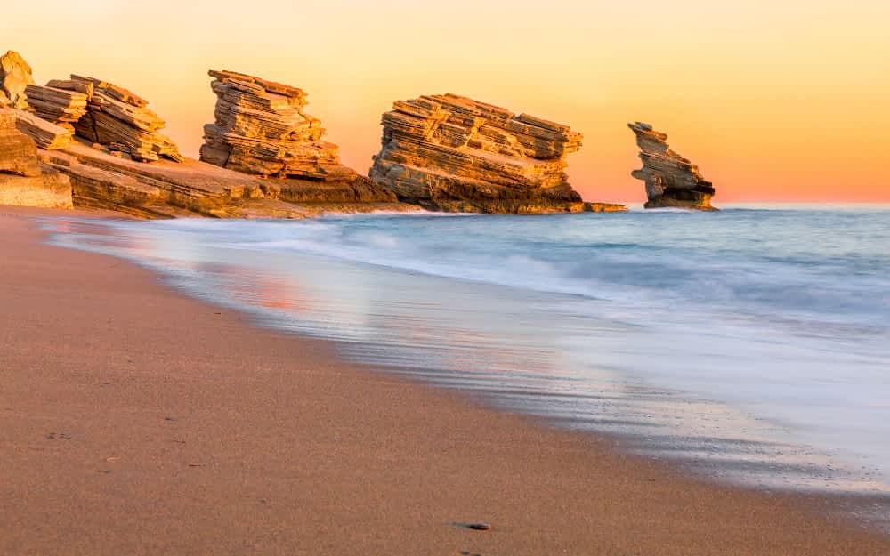 Top beaches in Crete, Triopetra Crete