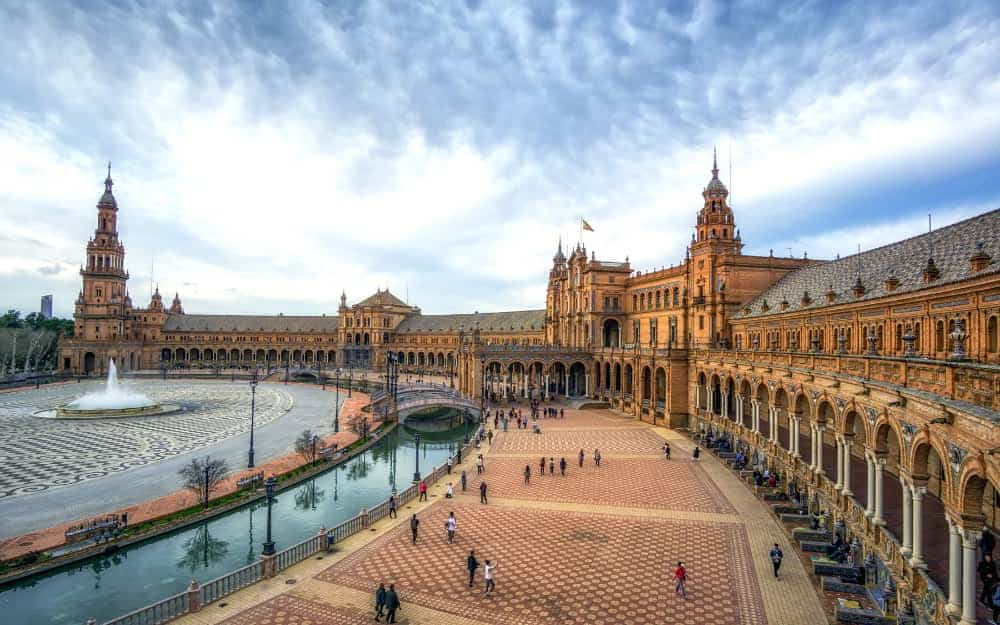 Warmest Place in Spain in Winter - Seville Winter