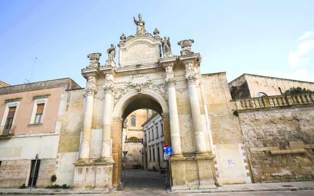 Porta Rudiae, Lecce
