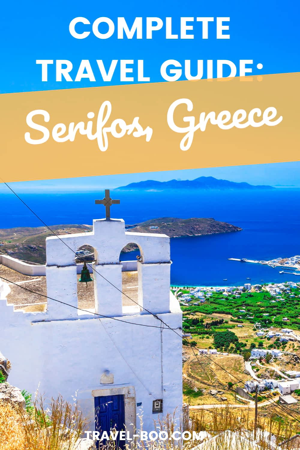 Plan to visit gorgeous Serifos Island in Greece? Read my guide which outlines everything you need to know to help plan the perfect visit to Serifos! Greece Travel Islands, Greece Travel, Greece Travel Guide, Serifos Greece, Serifos Travel, Greece Vacation, Greece Travel Tips. #greecetravelislands #serifos #greecetravel