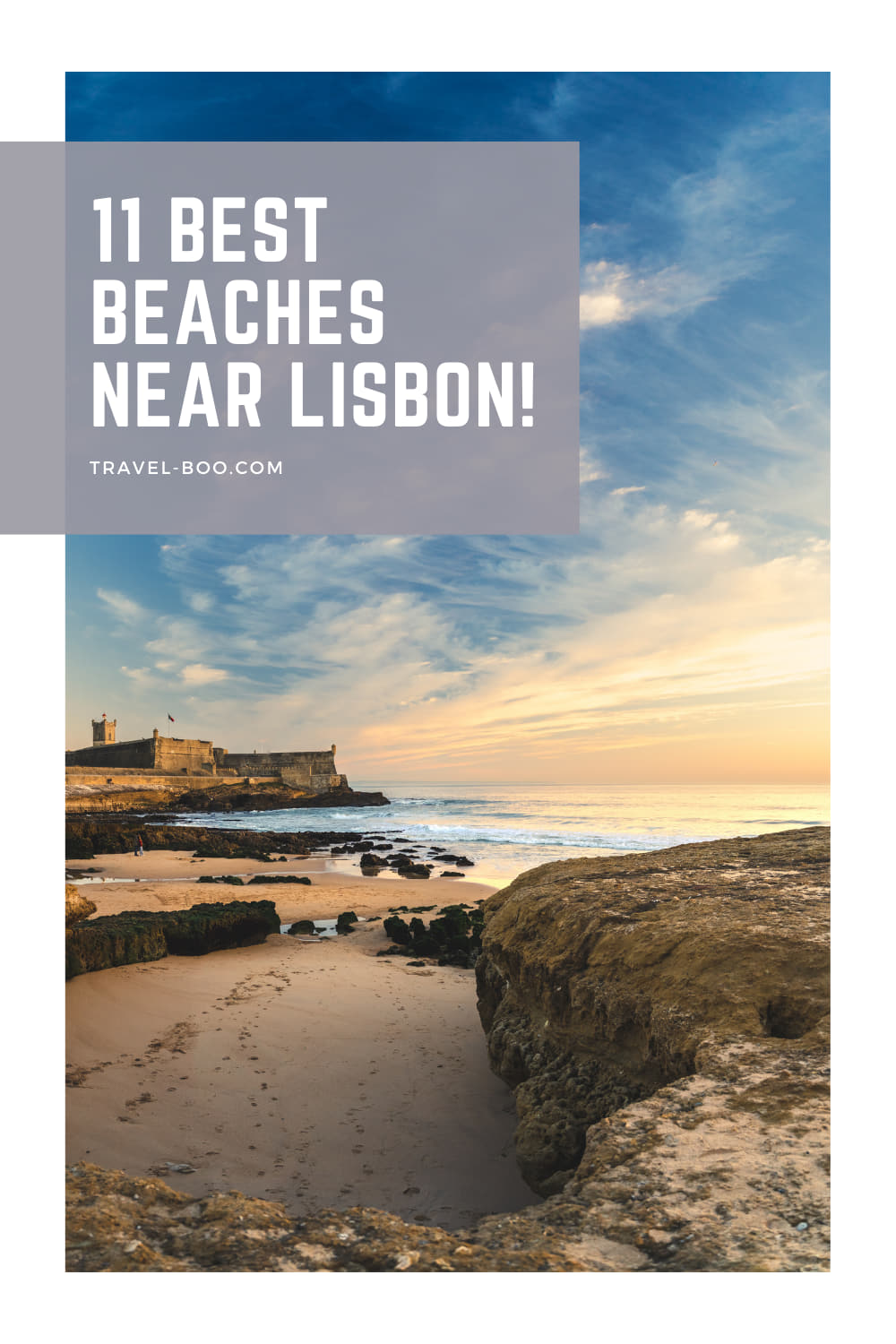 11 Beautiful Best Beaches in Lisbon & Surrounds Worth Exploring! Lisbon Beaches, Beaches in Lisbon, Lisbon Travel, Cascais Beaches, Beaches in Cascais, Cascais Travel, Lisbon Travel Itinerary