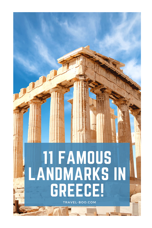 11 Historical & Famous Greek Landmarks Worth Visiting! Greece Travel, Greece Travel Landmarks, Famous Landmarks in Greece, Greece Vacations, Greece Itinerary