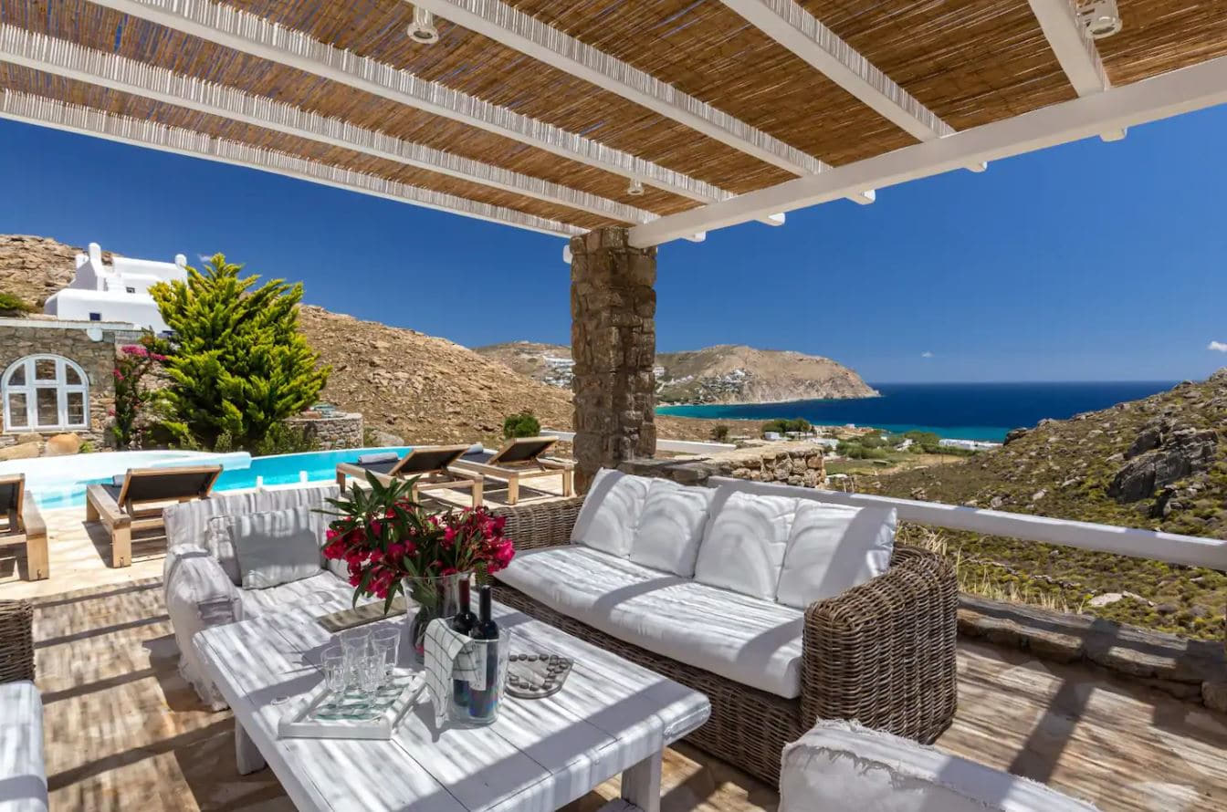 11. Magnificent Mykonian Mansion With Views Of The Beach
