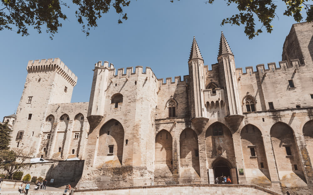11. Palais des Papes - historical places in France