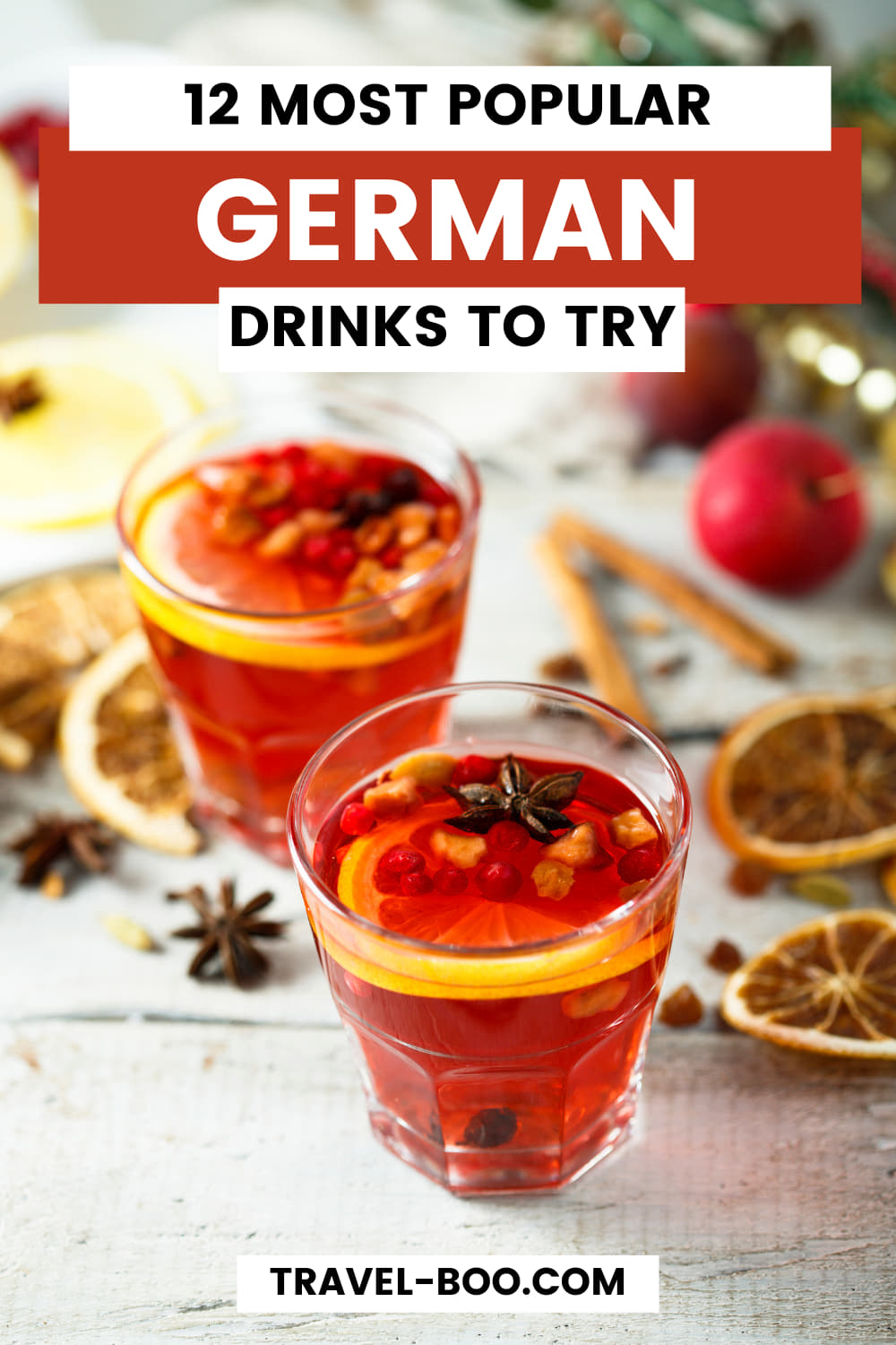 12 Most Popular German Drinks to try in Germany! Germany Travel, German Travel Tips, Germany Travel Guide, Germany Itinerary, Drinks from Germay, German Food and Drinks.