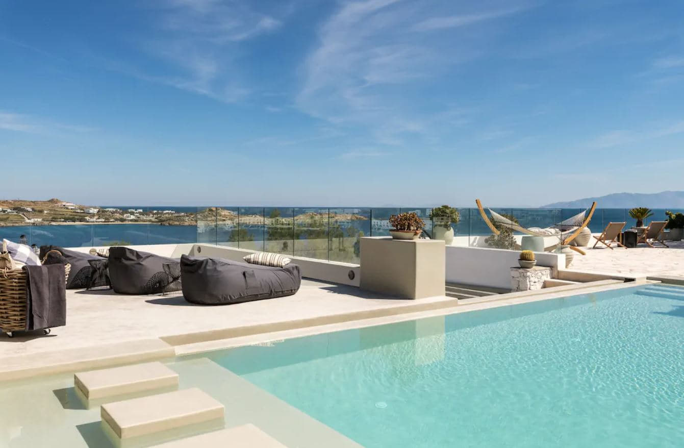 12. Amazing Mykonos Airbnb, Steps From Psarou Beach
