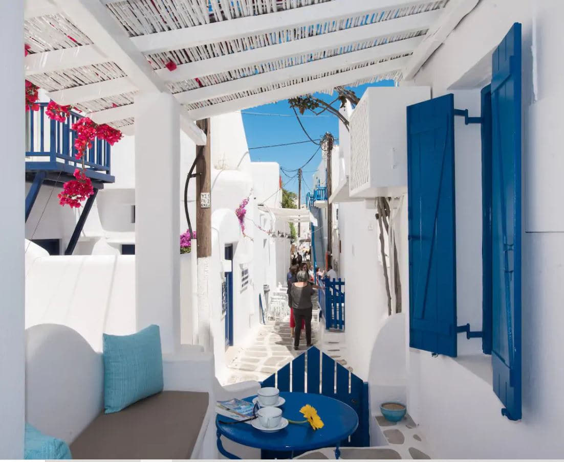 14. Charming Apartment In The Heart Of Mykonos Old Town