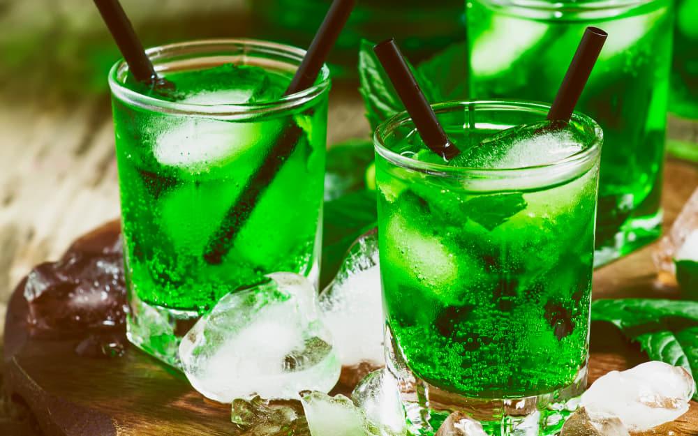 14. Diabolo Menthe - Non-alcoholic French Drinks