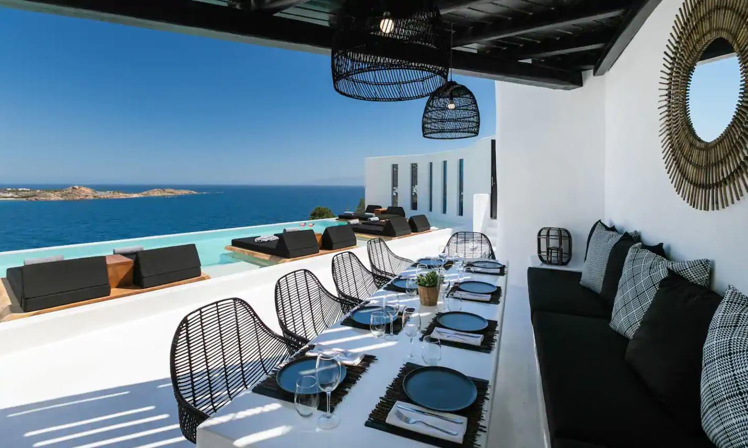 16. Stunning Contemporary Villa By Psarou Beach