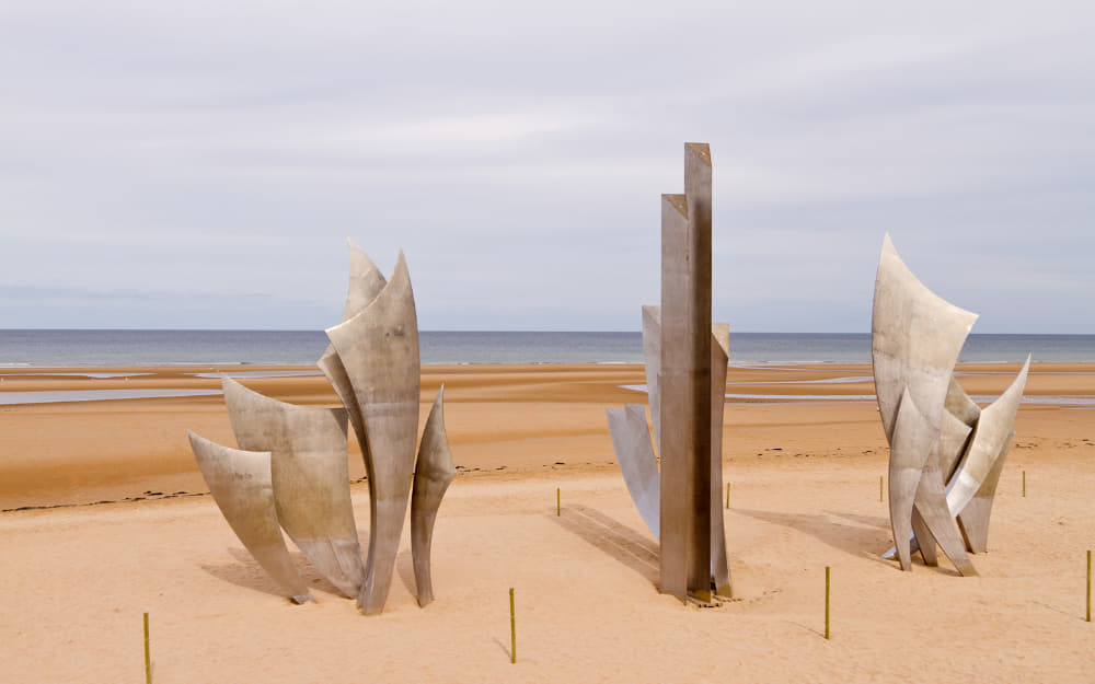 19. D-Day Landing Site - Beaches in Normandy